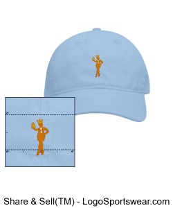 MOMS HAT/SNOWCONE BLUE Design Zoom